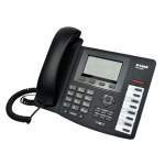 D-Link DPH-400S/F4A, VoIP Phone, 1 10/100Base-TX WAN port, and 1 10/100Base-TX LAN port.Call Control Protocol SIP, Russian menu, 5 independent SIP lin