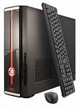 373001 ПК IRU Office 110 SFF Cel J1800 (2.41)/4Gb/500Gb 7.2k/HDG/Windows 7 Professional 64/GbitEth/300W/клавиатура/мышь/черный