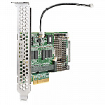 726821-B21 Контроллер HPE SAS Controller Smart Array P440/4GB FBWC/12G/int. Single mini-SAS port /PCIe3.0 X8/incl. h/h & f/h. Brckts