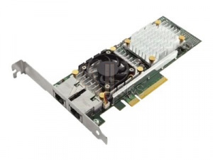 540-11152 Контроллер Dell Technologies DELL NIC Broadcom 57810 DP 10Gb BASE-T Network Interface Card, Low Profile - Kit (analog 540-BBIU)