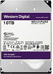 1077091 Жесткий диск WD Original SATA-III 10Tb WD101PURZ Purple (7200rpm) 256Mb 3.5""