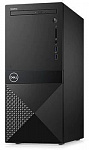1067948 ПК Dell Vostro 3670 MT i3 8100 (3.6)/4Gb/1Tb 7.2k/UHDG 630/DVDRW/CR/Windows 10 Home 64/GbitEth/WiFi/BT/290W/клавиатура/мышь/черный
