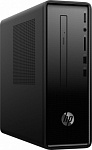 1195225 ПК HP Slimline 290-a0006ur A9 9425 (3.1)/8Gb/1Tb 7.2k/R5/Windows 10/GbitEth/WiFi/BT/65W/клавиатура/мышь/черный