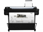 "CQ893A#B19 HP Designjet T520 ePrinter (36"",4color,2400x1200dpi,1Gb, 35spp(A1 drawing mode),USB/LAN/Wi-Fi,stand,media bin,rollfeed,sheetfeed,tray50 (A3/A4), autoc"
